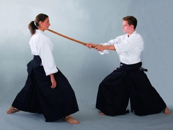 Hakama Kendo & Aikido schwarz
