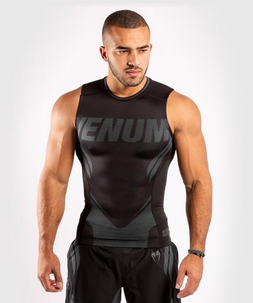 Venum ONE FC2 Rashguard Sleeveless Black / Black S