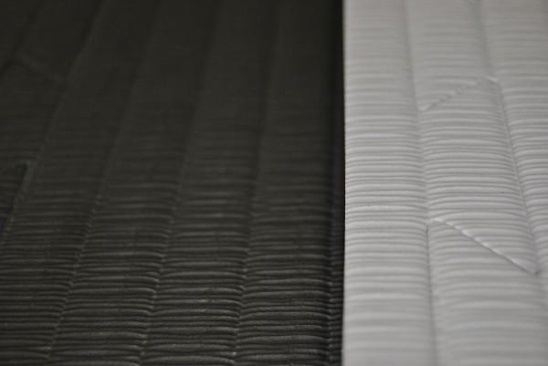Kampfsportmatten grau-schwarz ca. 100x100x2cm