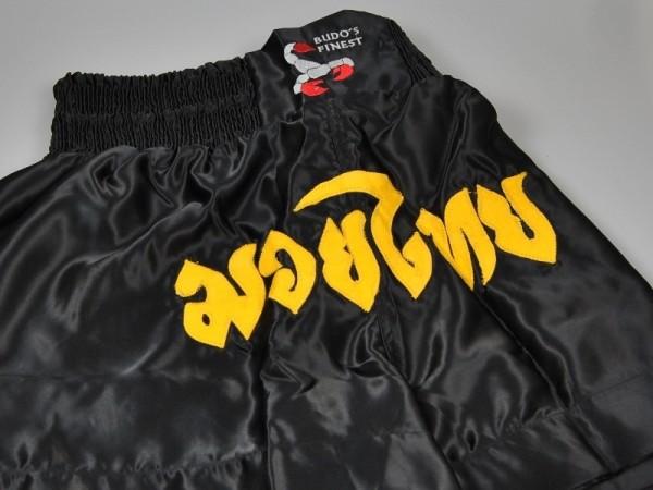 BUDO's FINEST Thai Shorts schwarz