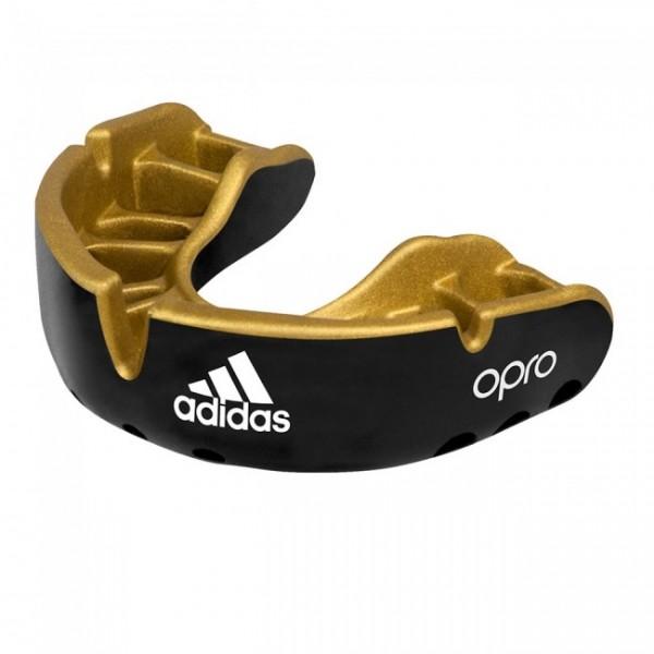 adidas Mundschutz OPRO Gen4 Gold-Edition Schwarz Senior