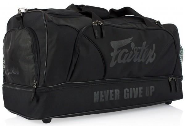 FAIRTEX Sporttasche schwarz ca. 70x35x34cm
