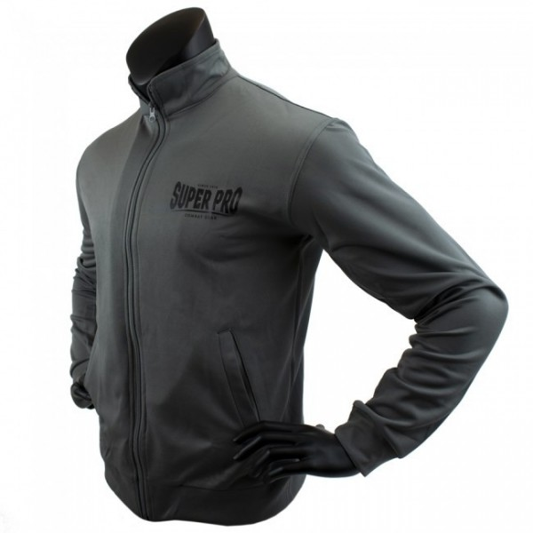 Super Pro Trainingsjacke grey/black