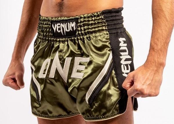 VENUM Thai Shorts ONE FC2 Black/ Khaki S