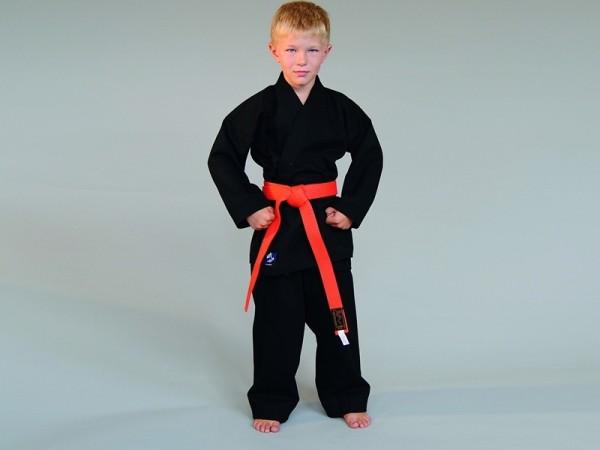 BASIC EDITION Karate Anzug schwarz