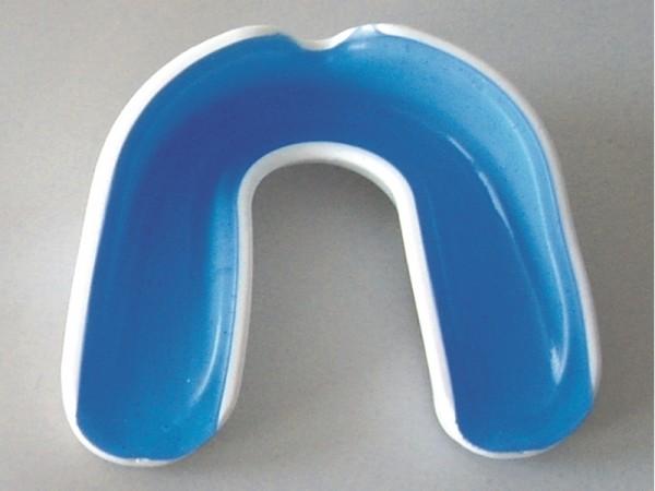 Zahnschutz WACOCU A+ weiß-blau mit Box
