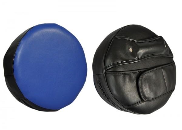 Handpratze rund schwarz-blau extra weich