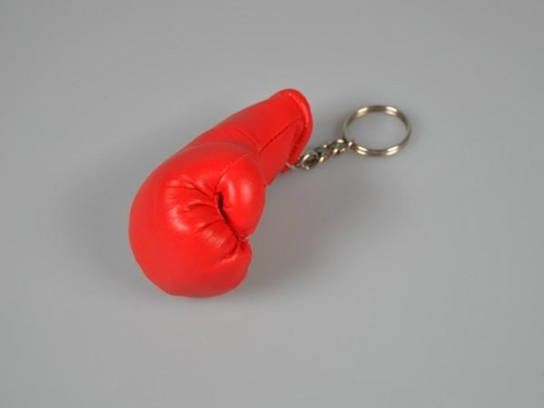 Schlüsselanhänger Mini-Boxhandschuh rot