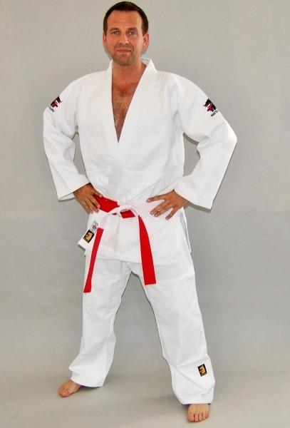 MATSURU Judo IJF 2015 MONDIAL Slim Fit weiß