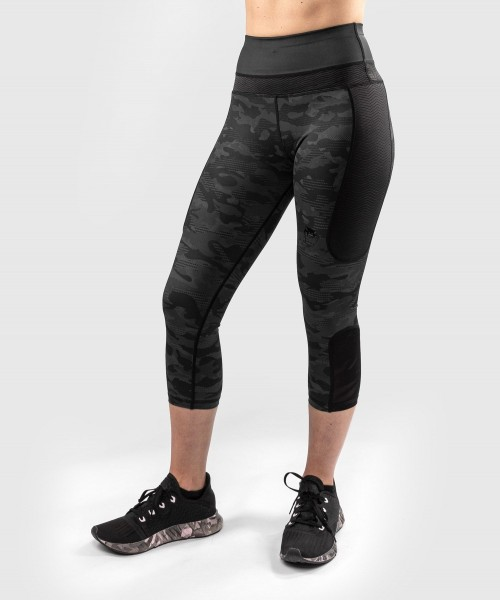 Venum Women Defender Leggings Crops schwarz XS