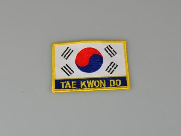Stickabzeichen TAEKWONDO ca 10 cm