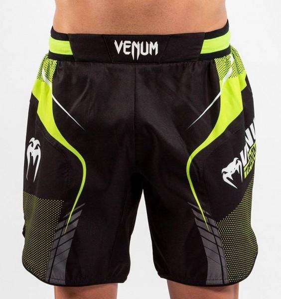 Venum VTC 3 Fighshorts Black/ Neo Yellow S