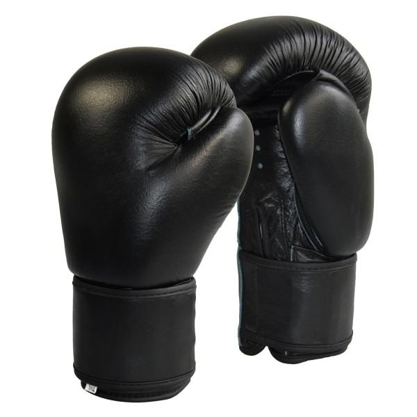 Boxhandschuhe Top-Modell schwarz Echtleder