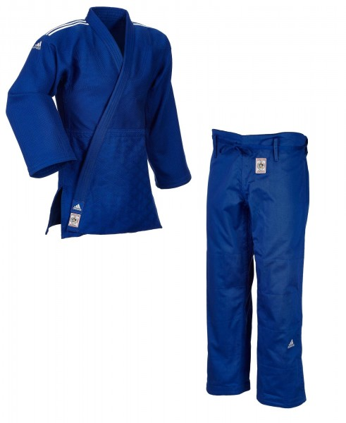 "ADIDAS ""CHAMPION II"" IJF Judogi blau SF"