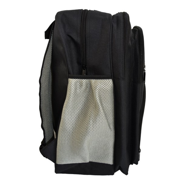 PX Rucksack, schwarz-grau, groß, ca. 50x35x15cm