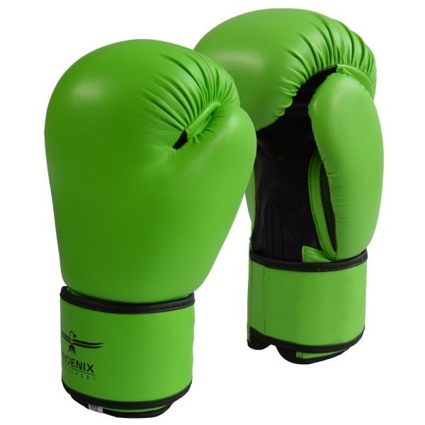 PHOENIX LIFE Boxhandschuhe PU, hellgrün-schwarz