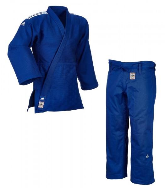 """ADIDAS """"CHAMPION II"""" IJF Judogi blau"""